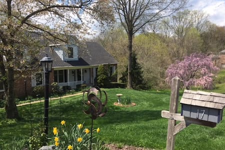 Hockessin Home  Quiet, Natural Setting
