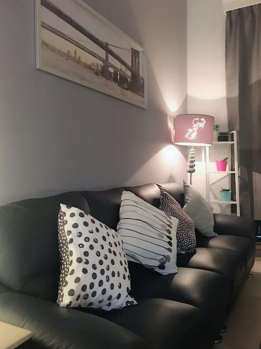 舒服且氣氛的客廳