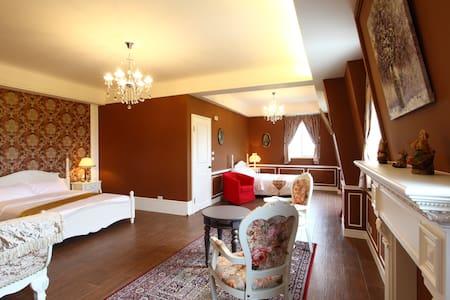 歐式風格國王四人房 - Bed & Breakfast