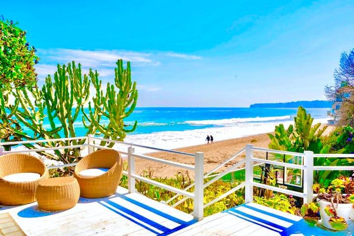NEW 5-STAR MALIBU BEACH-HOUSE @ BEST PRIVATE BEACH