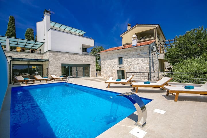 Modern Villa Kina with private pool and sauna - Pula