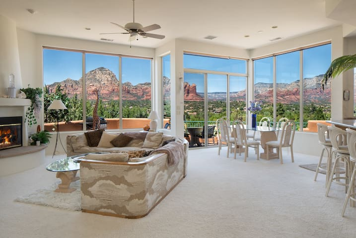 Sedona's 5* Luxury Villa with Breathtaking Views