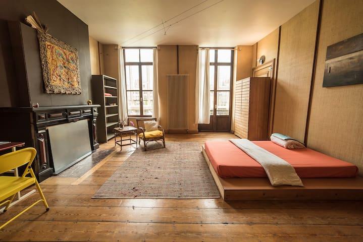 Le rêve un appartement qui fait voyager