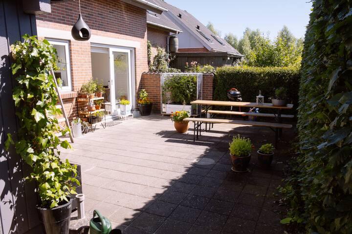 Dejligt hus med tre terrasser - Aarhus - Rumah