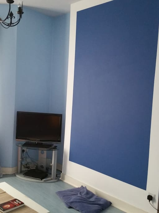 Living Room - shades of blue
