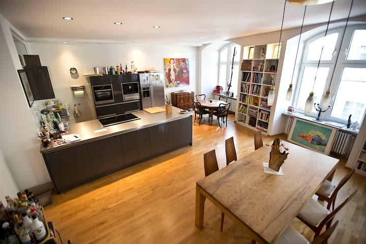 Grosszügige Loft , mit Flair in Stadtmitte