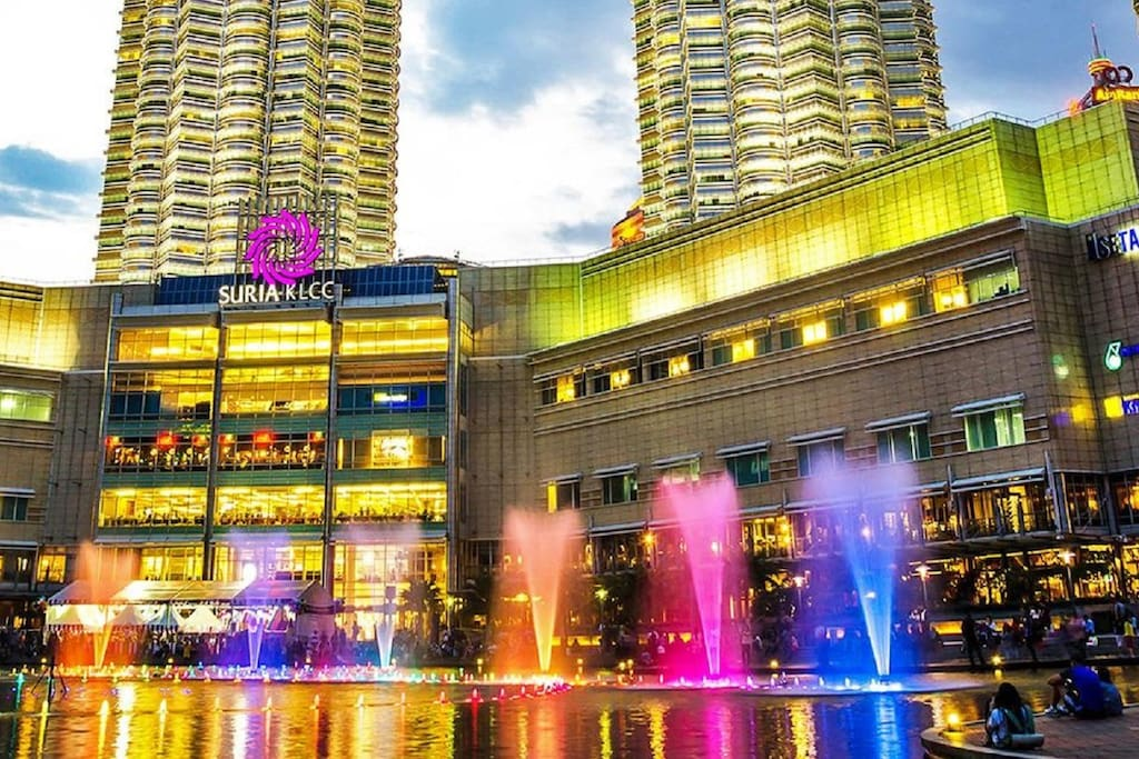 Suira KLCC mall - famous shopping mall few mins away from my apt