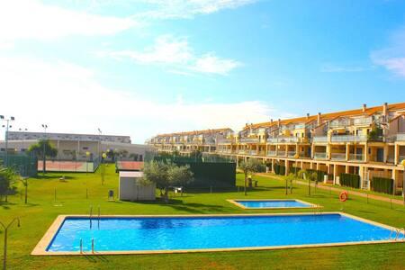 Apartamento Urbanización Panorámica,Golf Golfmar - Sant Jordi - Apartmen
