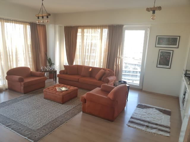 Istanbul Bahcesehir Lux 2+1 Residence Big Balcony