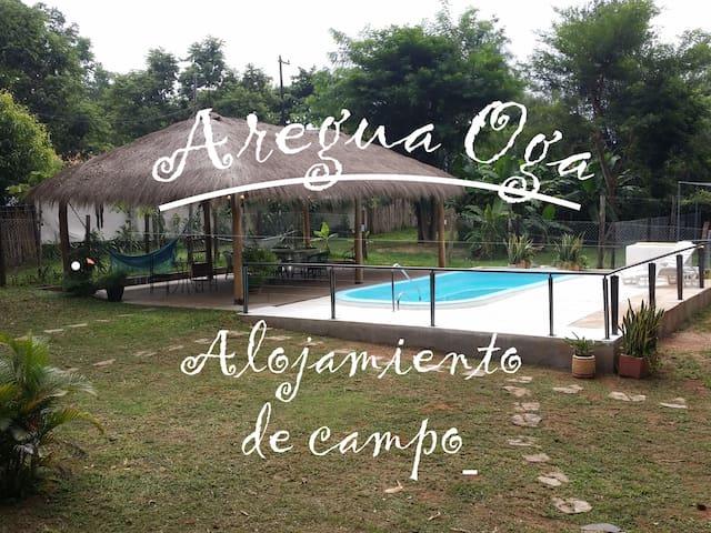 Aregua Oga Hotel room #2