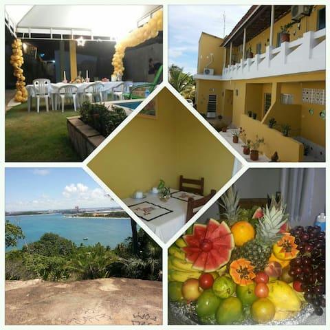 ÓTIMO CUSTO BENEFÍCIO PERTO DE PORTO DE GALINHAS - Cabo de Santo Agostinho - Bed & Breakfast