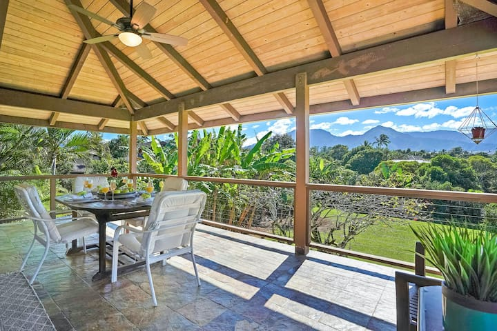 Newly Furnished, Mountain View Home with High-Speed WiFi, W/D & Outdoor Shower