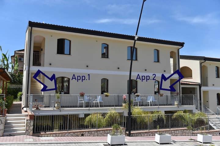 Casa con giardino a Tropea! App.2