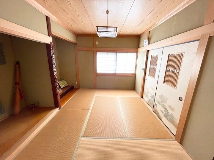 《1日1組限定の宿》白浜、串本、高野山、本宮大社などへのアクセス良好《ゲストハウスわたぼうし》