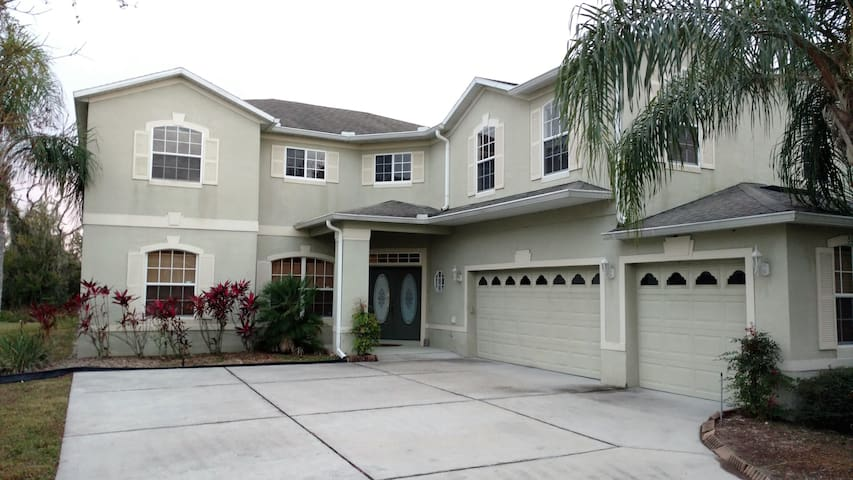 Huge Room. Great for 3, Perfect for 2, Bliss for 1 - Kissimmee - Ház