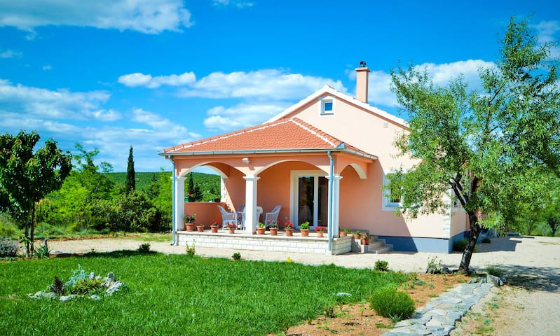 Holiday home-Fabio in Dalmatia with swimming pool