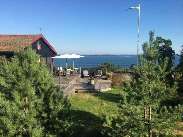 Amazing house with view in the swedish archipelago - Värmdö SO - Casa