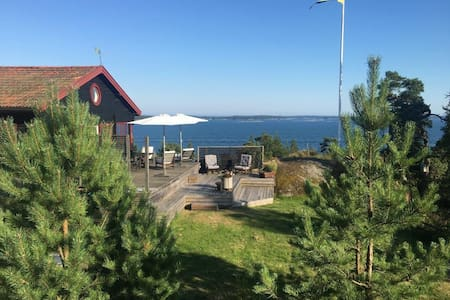 Amazing house with view in the swedish archipelago - Värmdö SO - Rumah