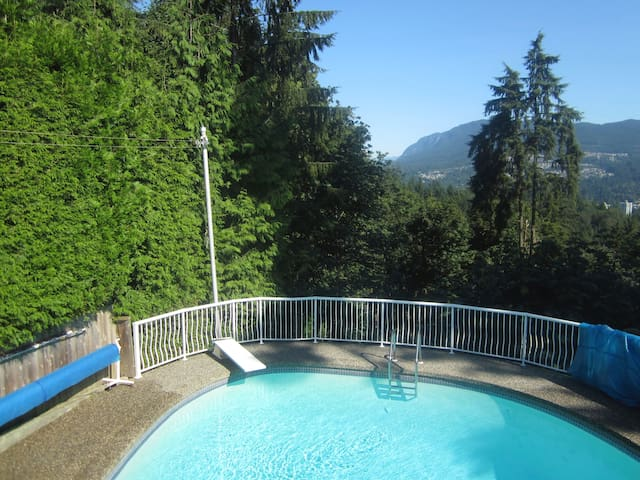 Forest Edge Suite  1100 SQ FT / Gas FP - Coquitlam