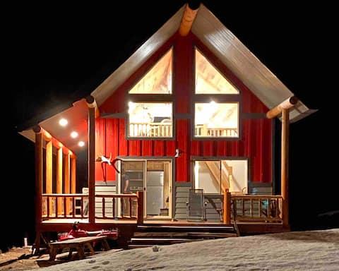 Amazing mountain cabin near buffalo wyoming.