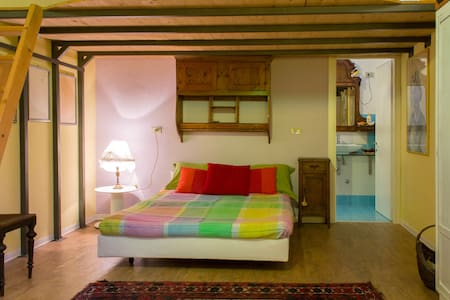 Monolocale indipendente e spazioso in seminterrato - Romano D'ezzelino - Apartment