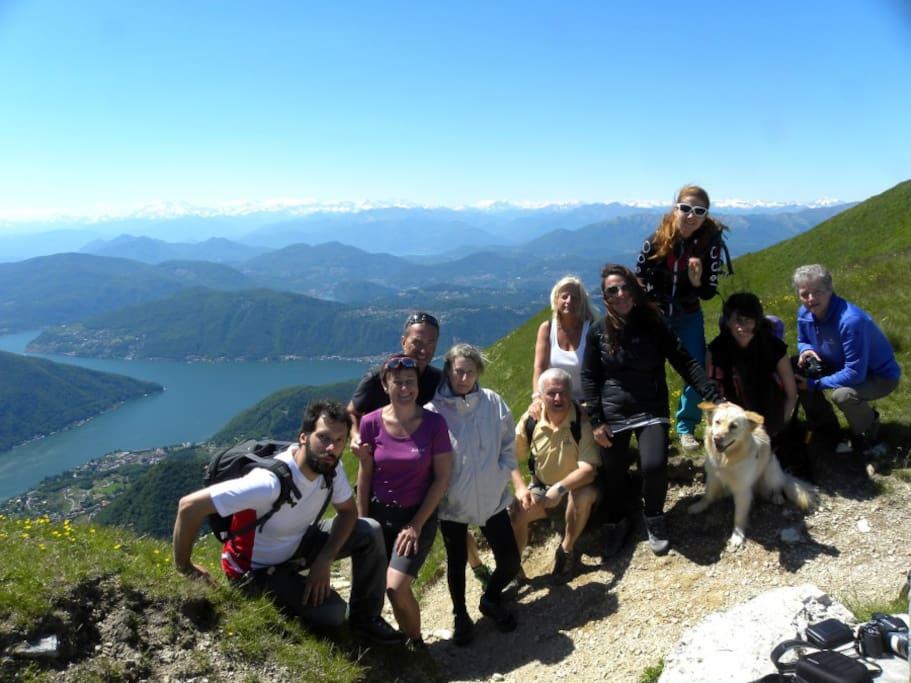 Walking Tour on Monte Generoso