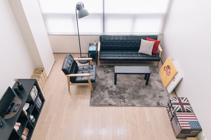 Budget Stay of Luxury Studio @Heart of Gangnam!! - Seocho-gu - Huoneisto