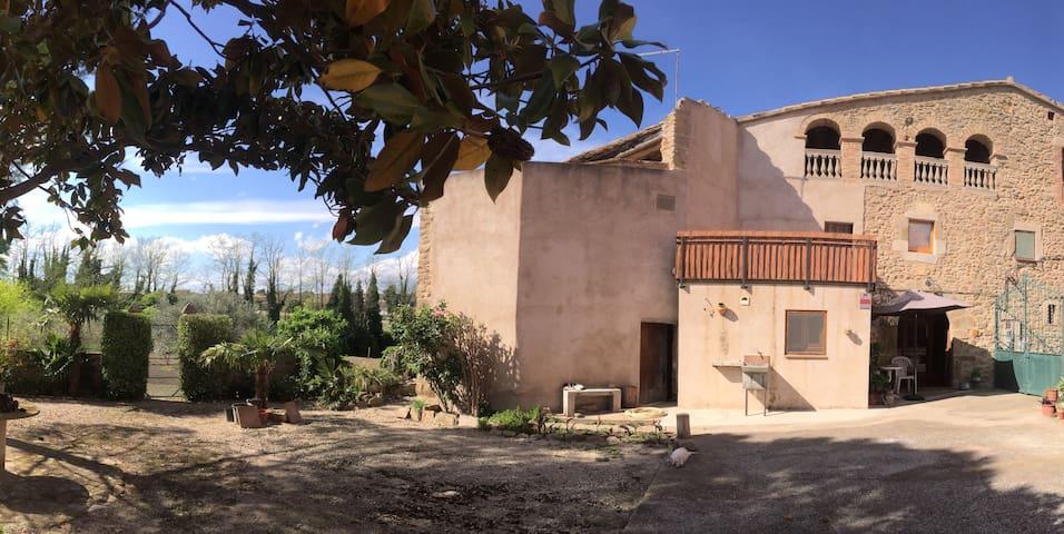 GIRONA - COSTA BRAVA : Casa rural (masia catalana) - Sant Joan de Mollet - House