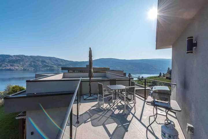 Hillside Haven @ Lake Okanagan - privacy & views