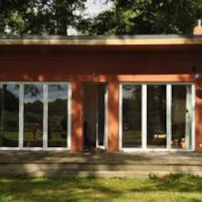 Bungalow - Blick vom See