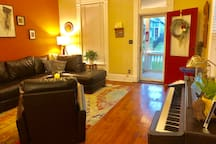 Worldly eclectic Victorian in Fountain Square