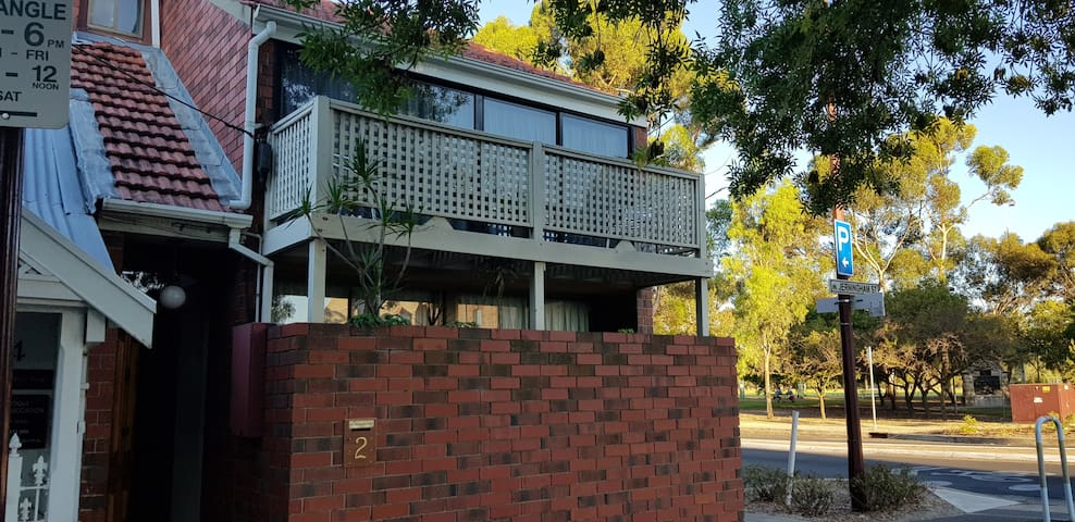 stand alone town house overlooking parklands