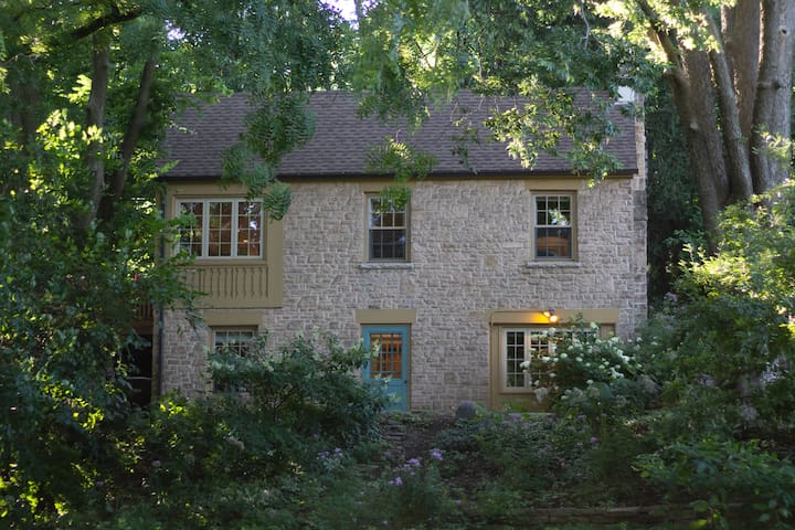 1930s Stone Carriage House