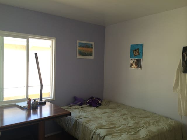 The Purple Room in My Townhouse