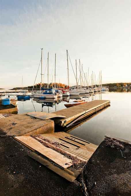 Knarberg Brygge - 2 minutes by foot from the house