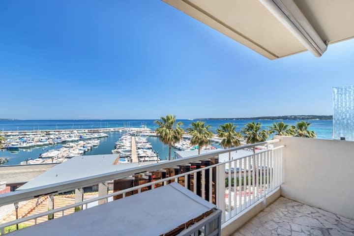 Cannes - Palm Beach (vue mer)