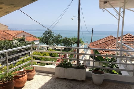 Vrysi to psefti apartments 30 meters From the sea - πεταλιδι