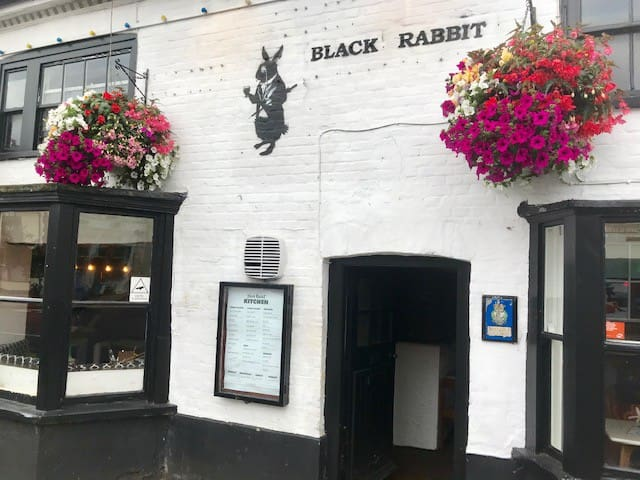 Double room at Black Rabbit Pub, Maldon