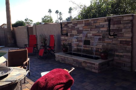 4BR fully furnished w/ pool, outdoor kitchen - Tempe - House