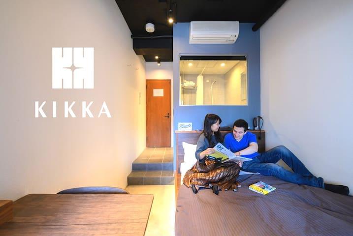 Double Room| Hostel KIKKA Tokyo