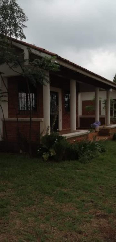 """Centro  Ecoturista La Mesa"""" Cabaña 5 el Tigre Mich"""