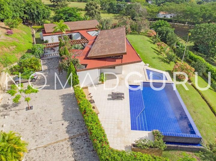 Luxe Villa SantaFe Pool&Jacuzzi byNOMADGURU