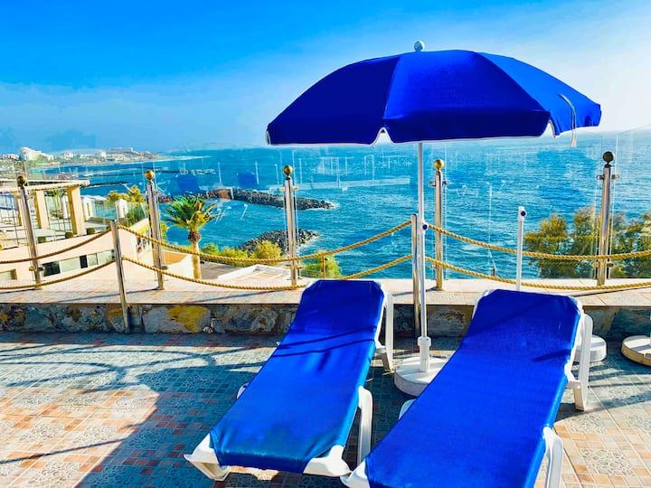 First line,Club Villa Mar,Playa Las Americas