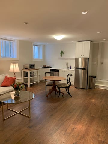 Newly Renovated 2BR BSMT APT in Moore Park