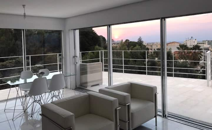 Panoramic view Rhodes - Penthouse
