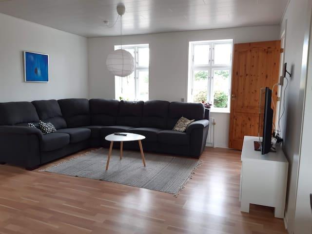 Stue - Stor sofa