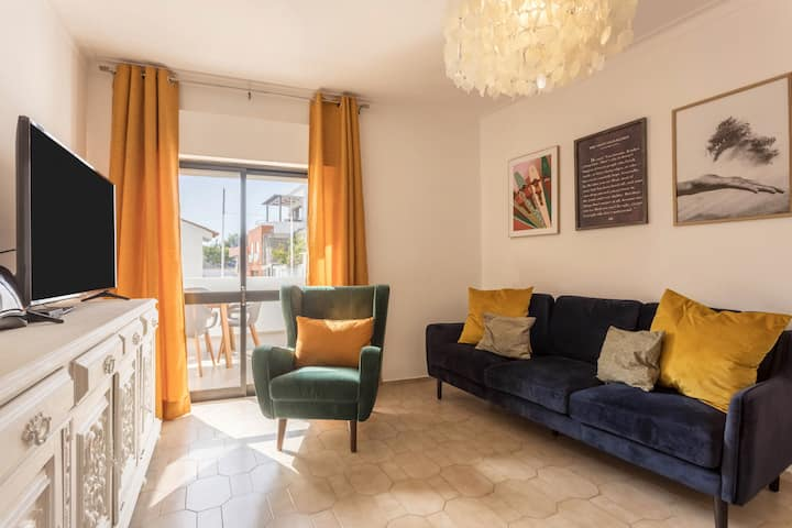 """Holiday Apartment """"Alvor Stories 3 Bedroom Apt"""" with Wi-Fi, Balcony & Terrace; Street Parking Available"""