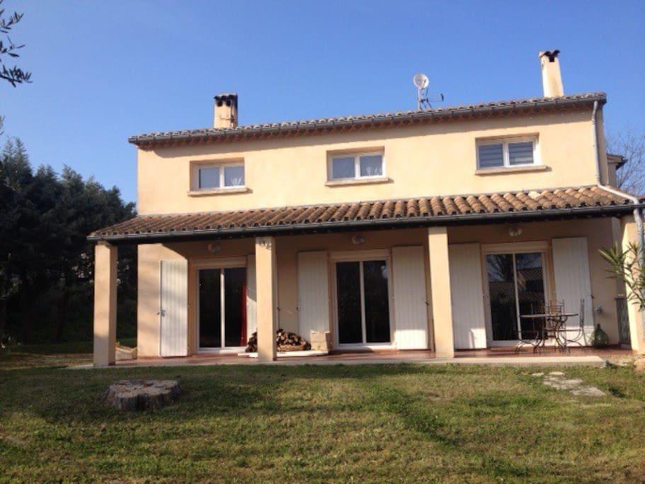 Maison individuelle chambres maisons louer for Chambre d hote languedoc roussillon