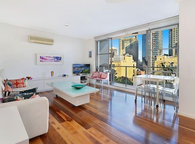 美景、书香、悉尼市中心的高层景观公寓