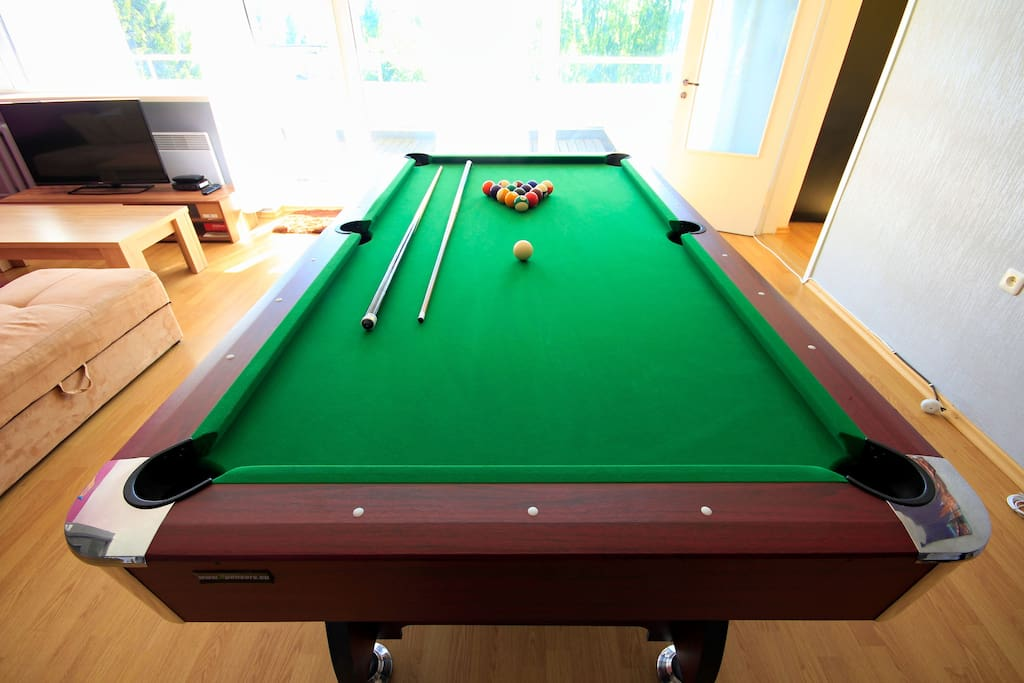 Apartment With Pool Table And Balconies Apartments For